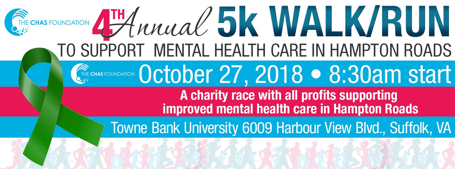 4th Annual Chas Foundation 5K Walk/Run