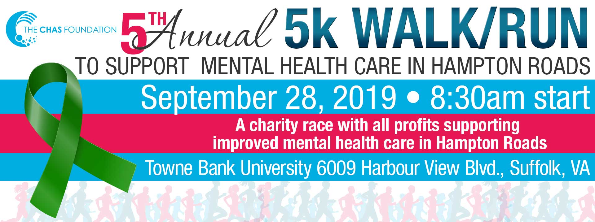 5th Annual Chas Foundation 5K Walk/Run